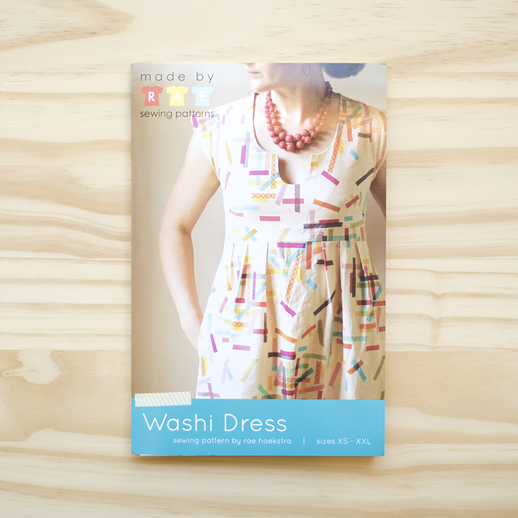 Made By Rae : Sewing Pattern : Washi Dress