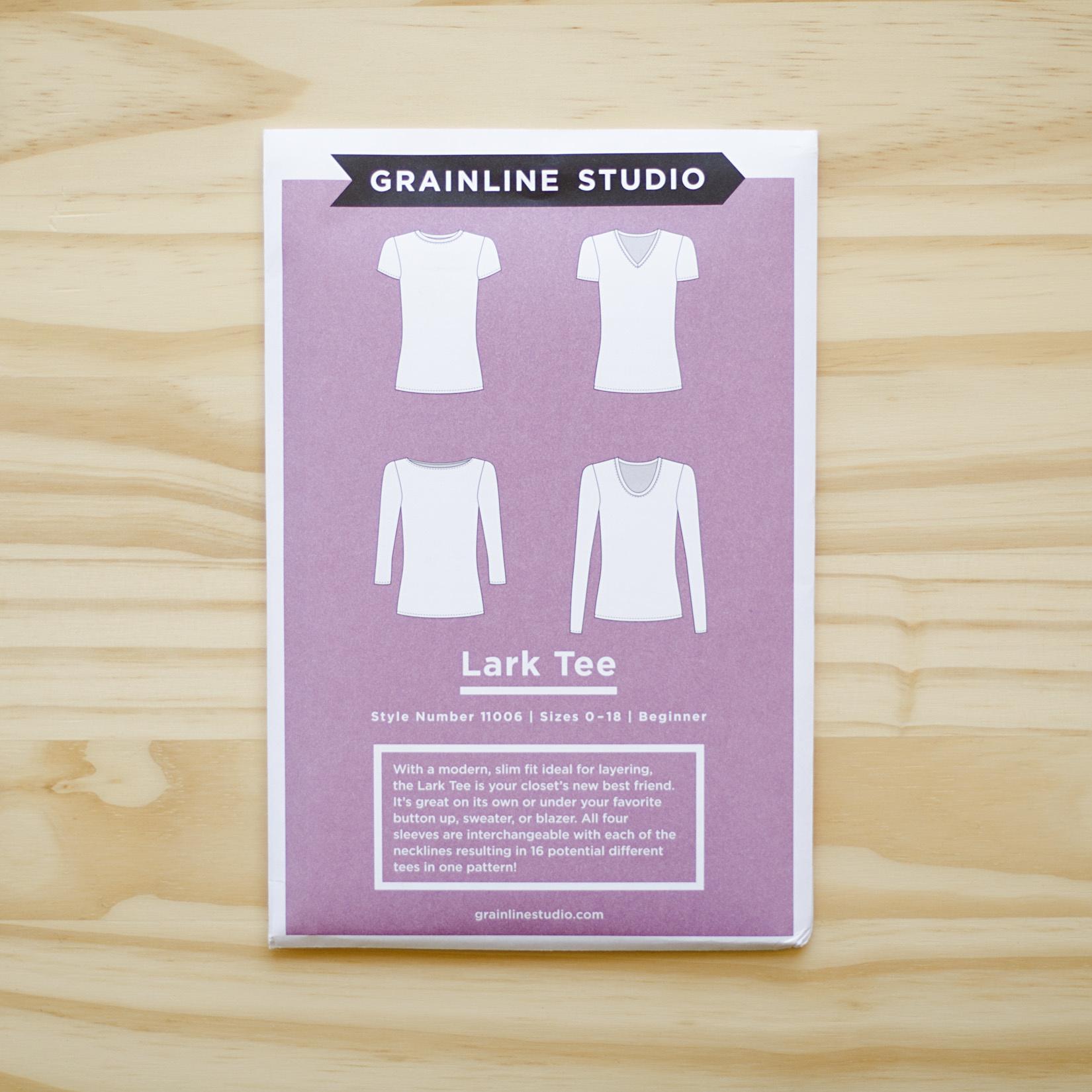 Grainline Studio : Sewing Pattern : Lark Tee