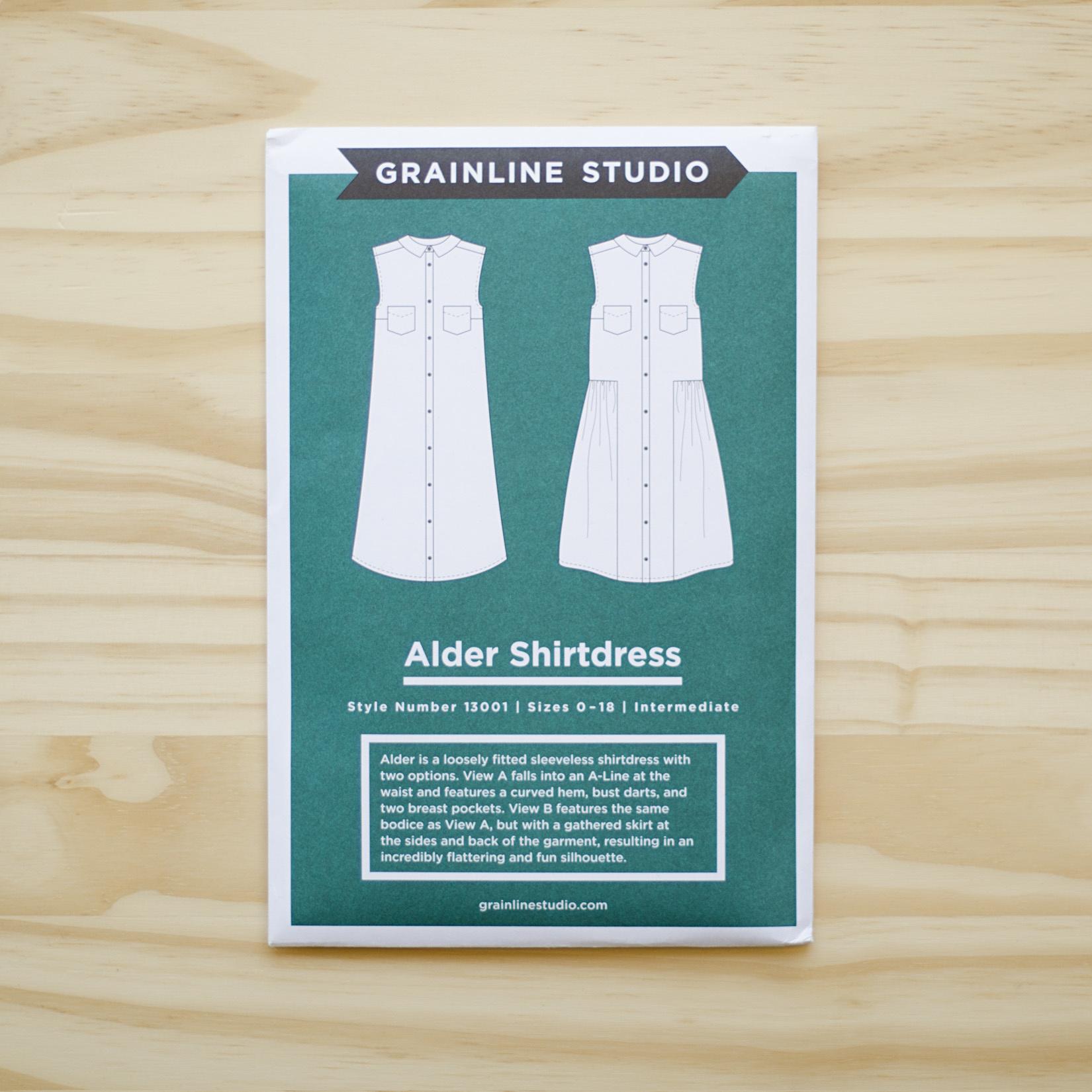 Grainline Studio : Sewing Pattern : Alder Shirtdress