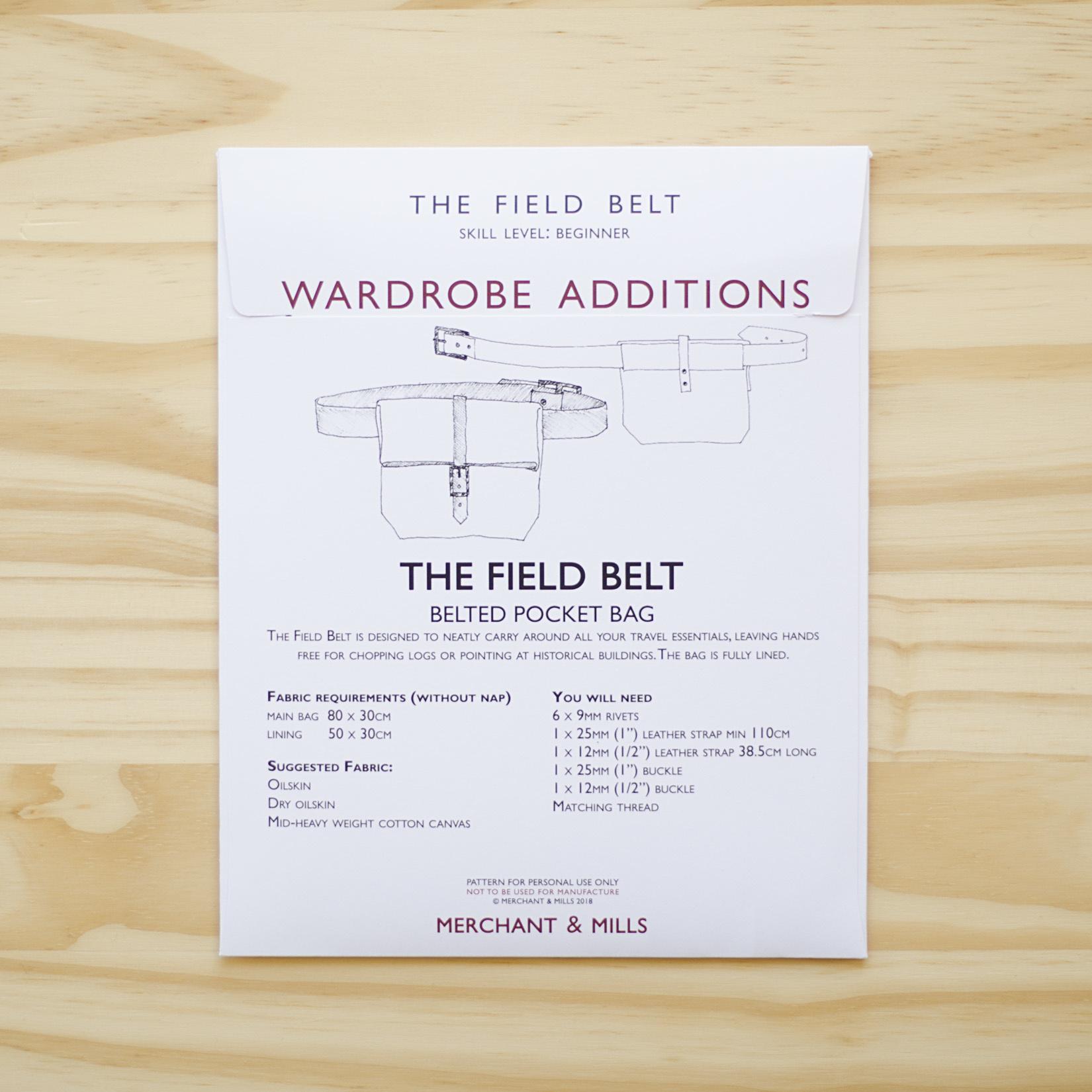 Merchant & Mills : Sewing Pattern : Field Belt