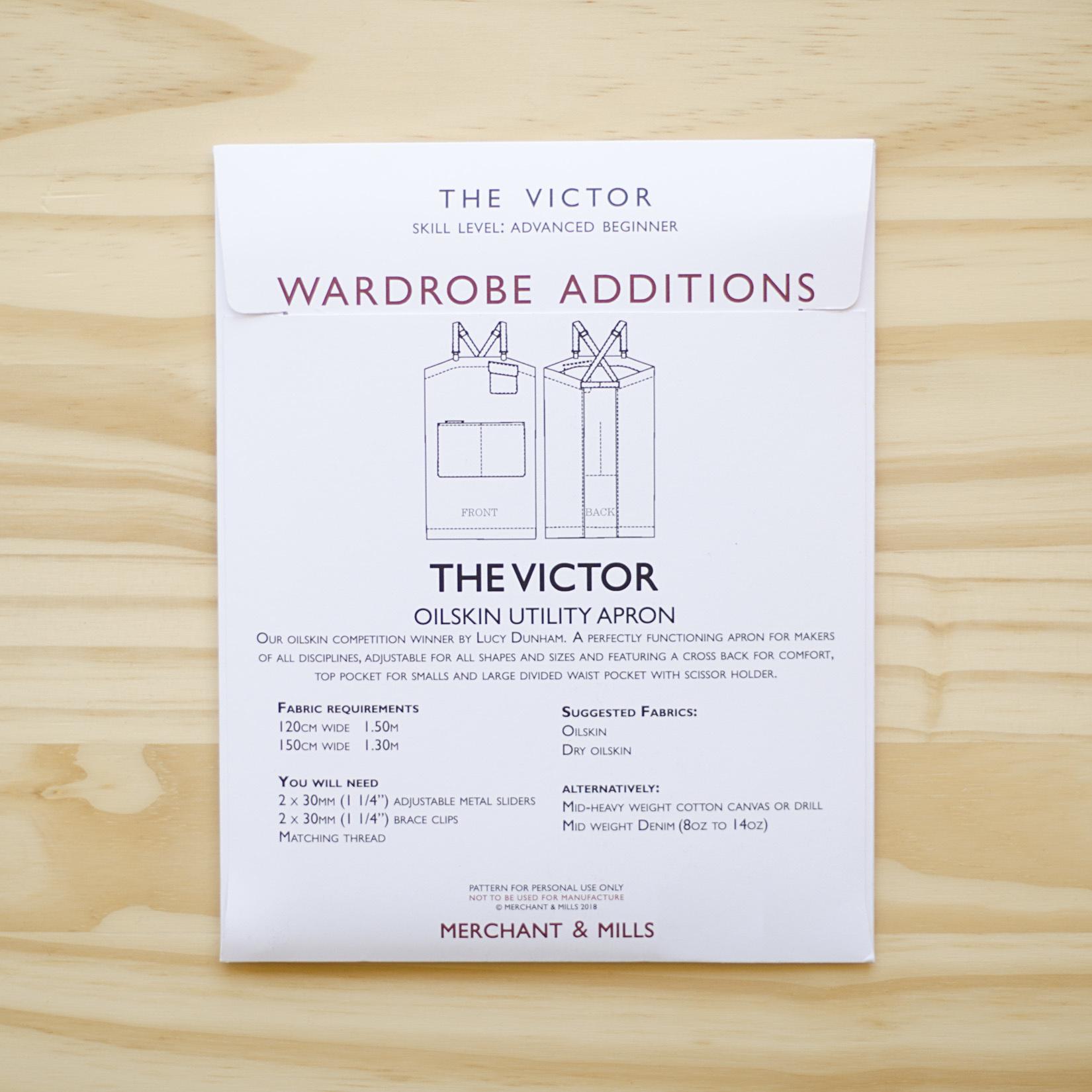 Merchant & Mills : Sewing Pattern : Victor Apron