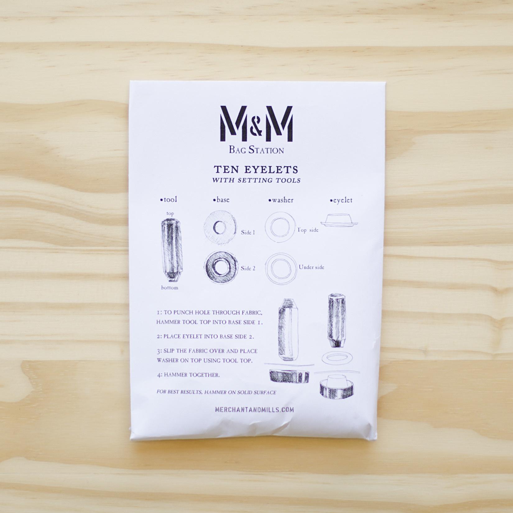 Merchant & Mills : Eyelets Set : Brass