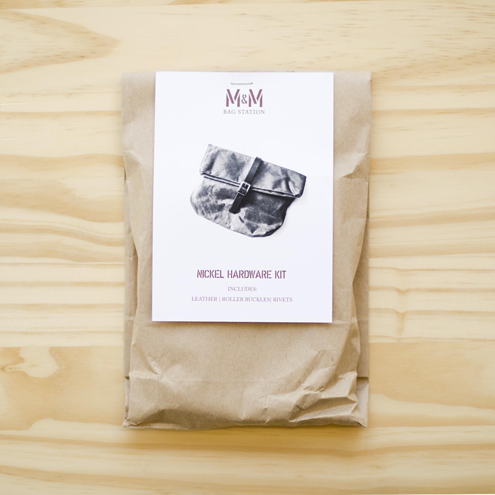 Merchant & Mills : Field Belt Hardware Kit : Nickel