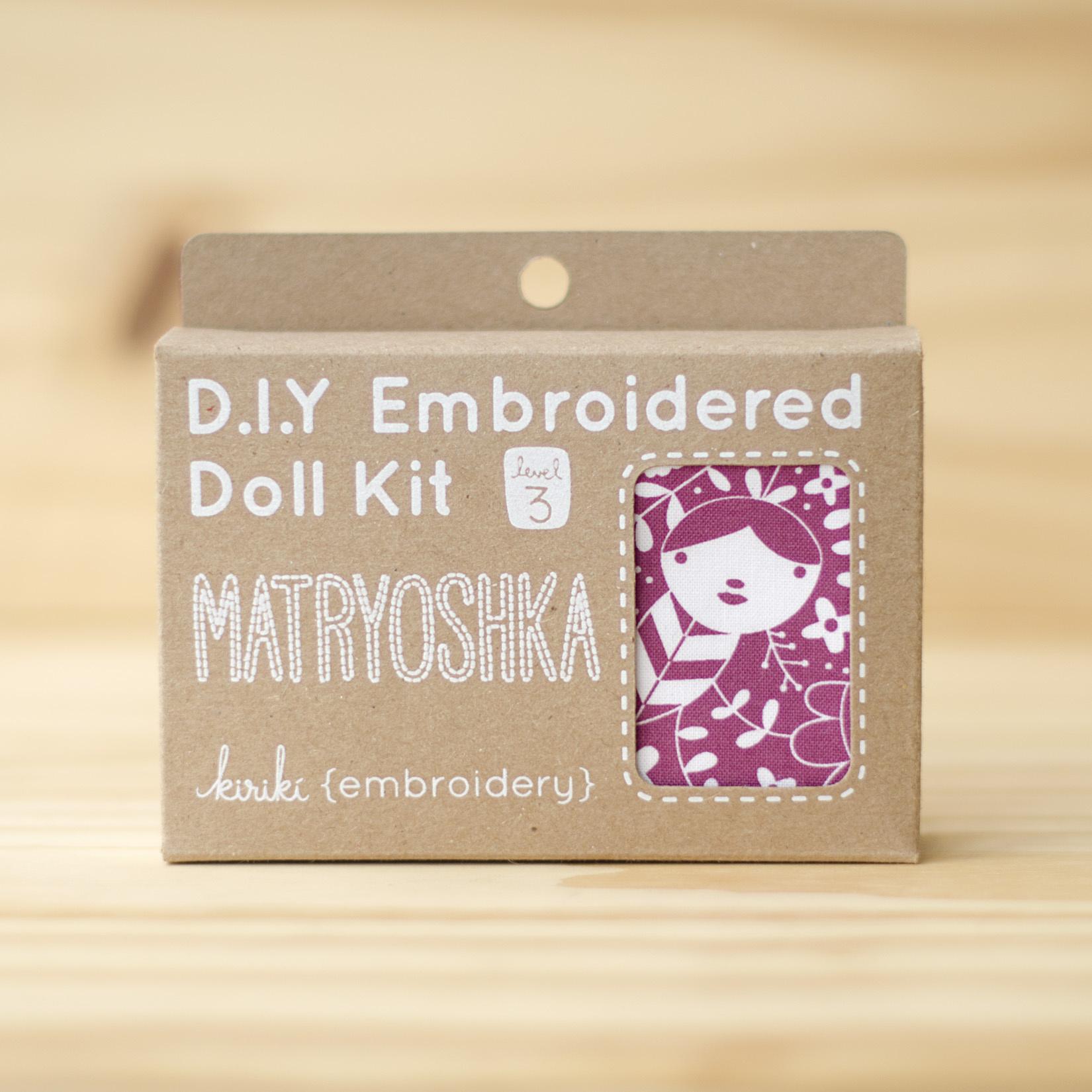 Kiriki Press : Embroidery Kit : Matryoshka