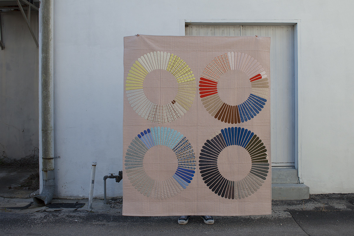 Carolyn Friedlander : Hunt Quilt Acrylic Template : No seam allowance