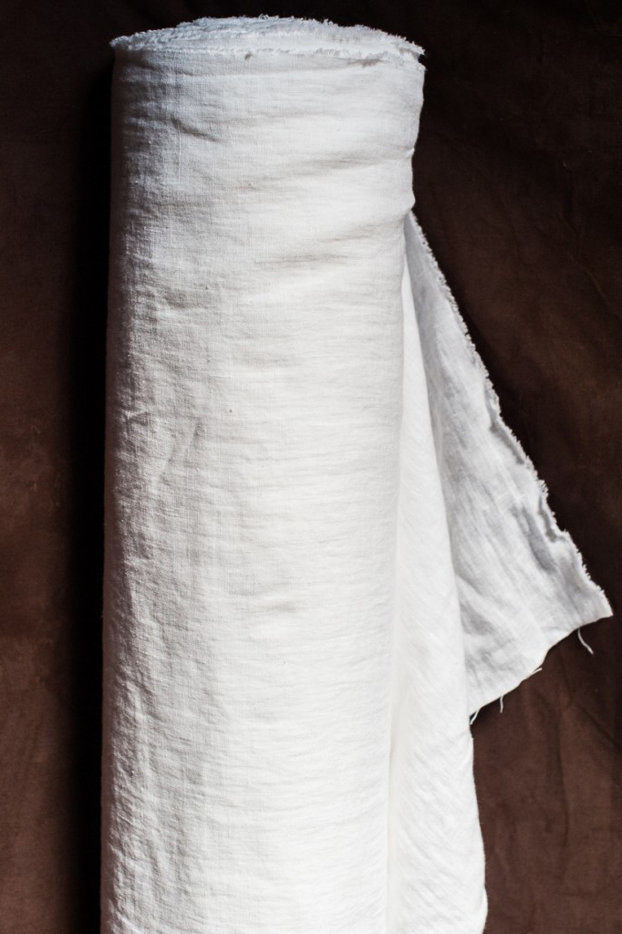 Merchant & Mills : European Linen : Virgin White : 1/2 metre