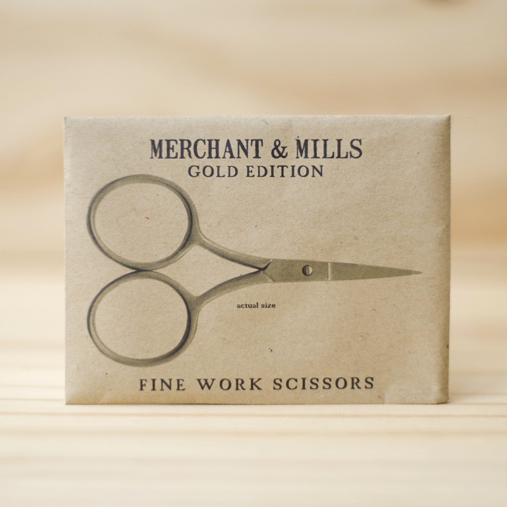 Merchant & Mills : Fine Work Scissors : Gold