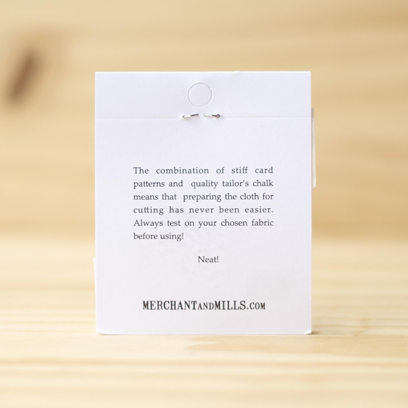 Merchant & Mills : Tailor's Chalk : White