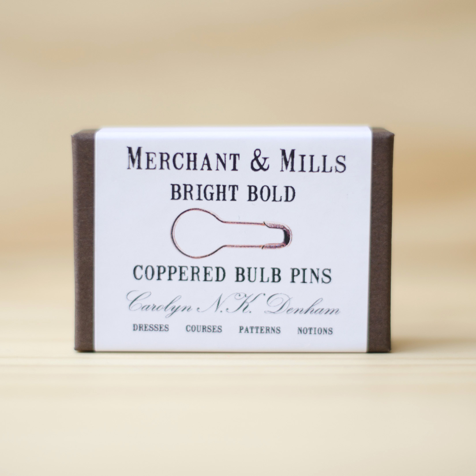 Merchant & Mills : Bulb Pins : Copper