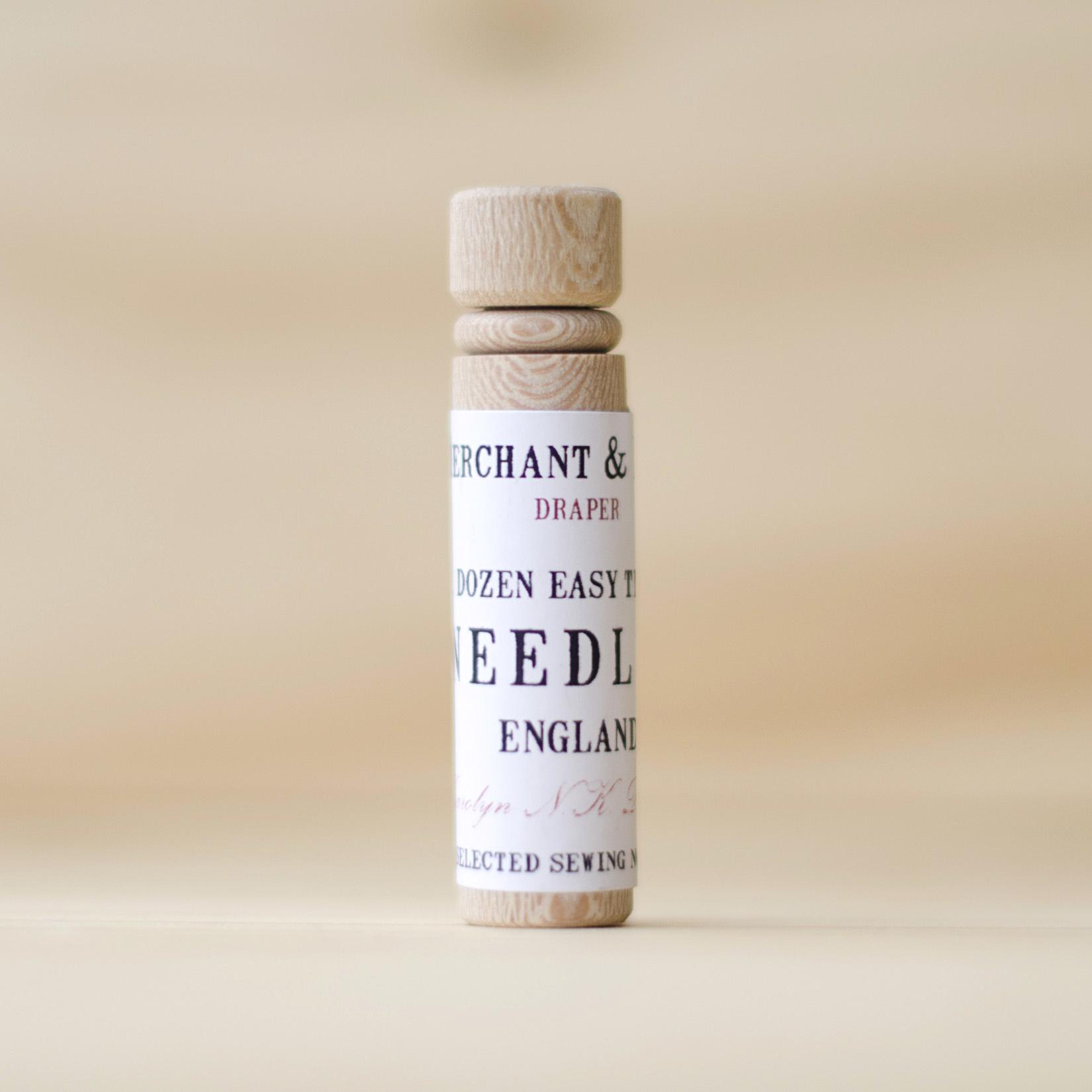 Merchant & Mills : Easy Thread Needles : 12 Needles
