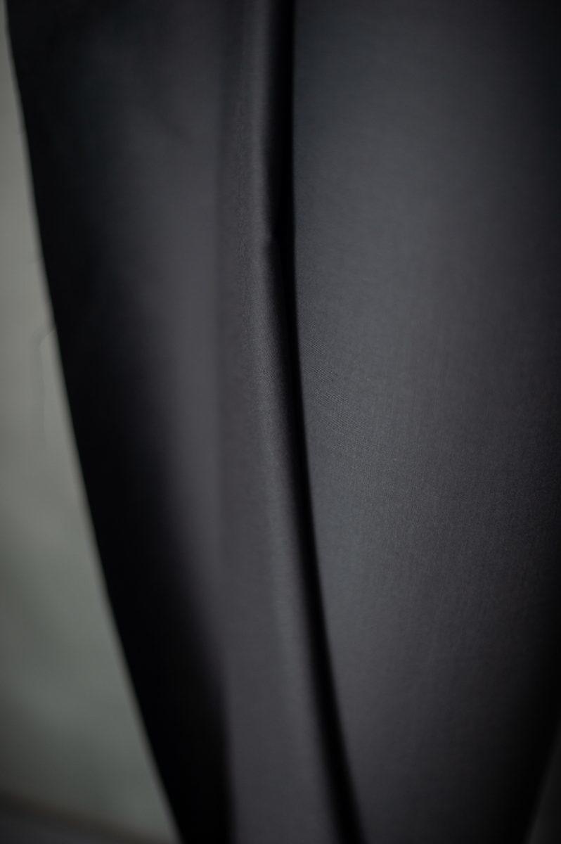 Merchant & Mills : Oilskin Barrier Lining : Black : 1/2 metre