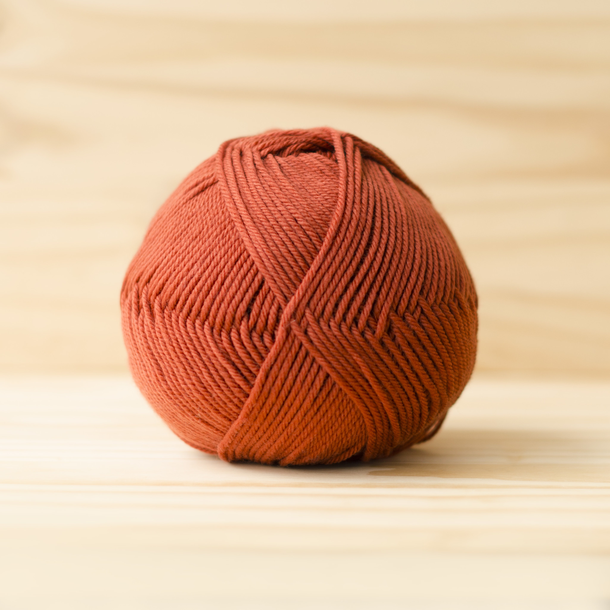 Cascade 220 Superwash Merino : 06 Burnt Orange