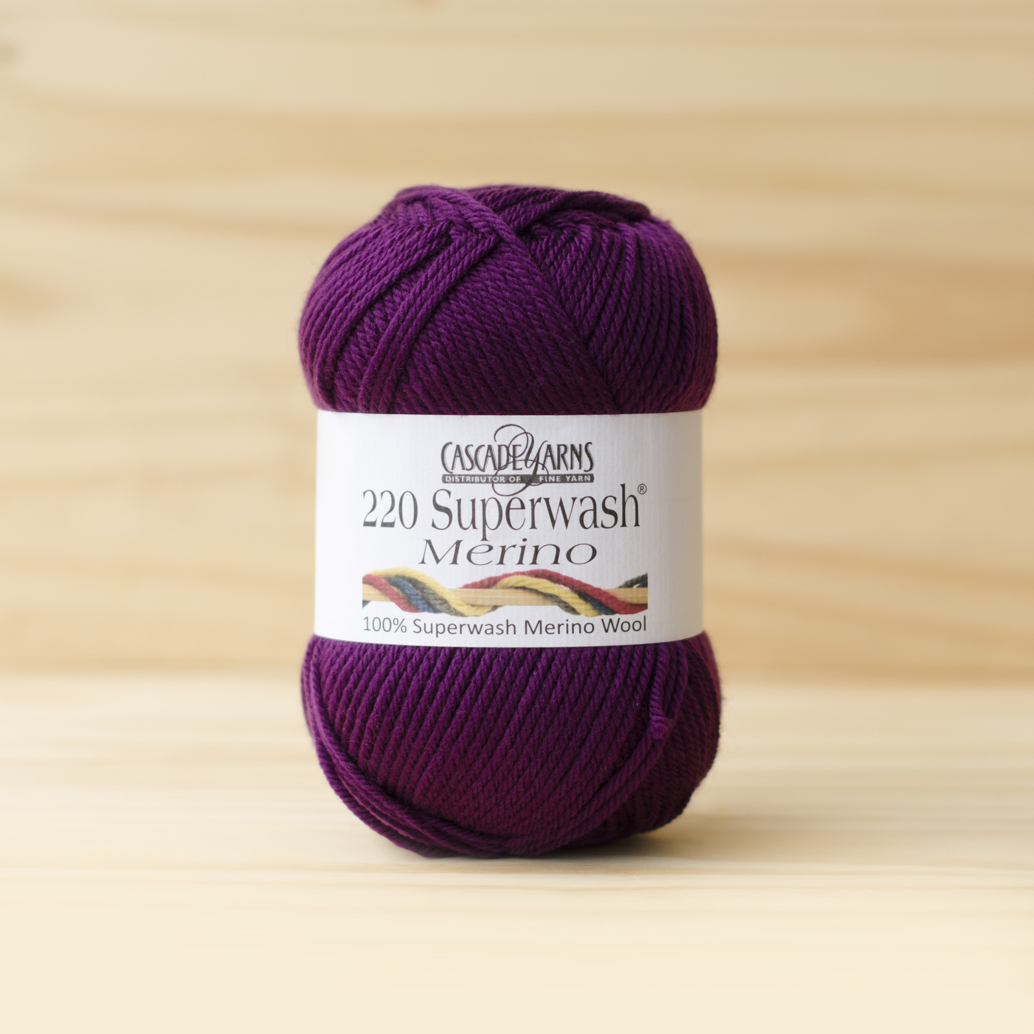 Cascade 220 Superwash Merino : 21 Dark Berry