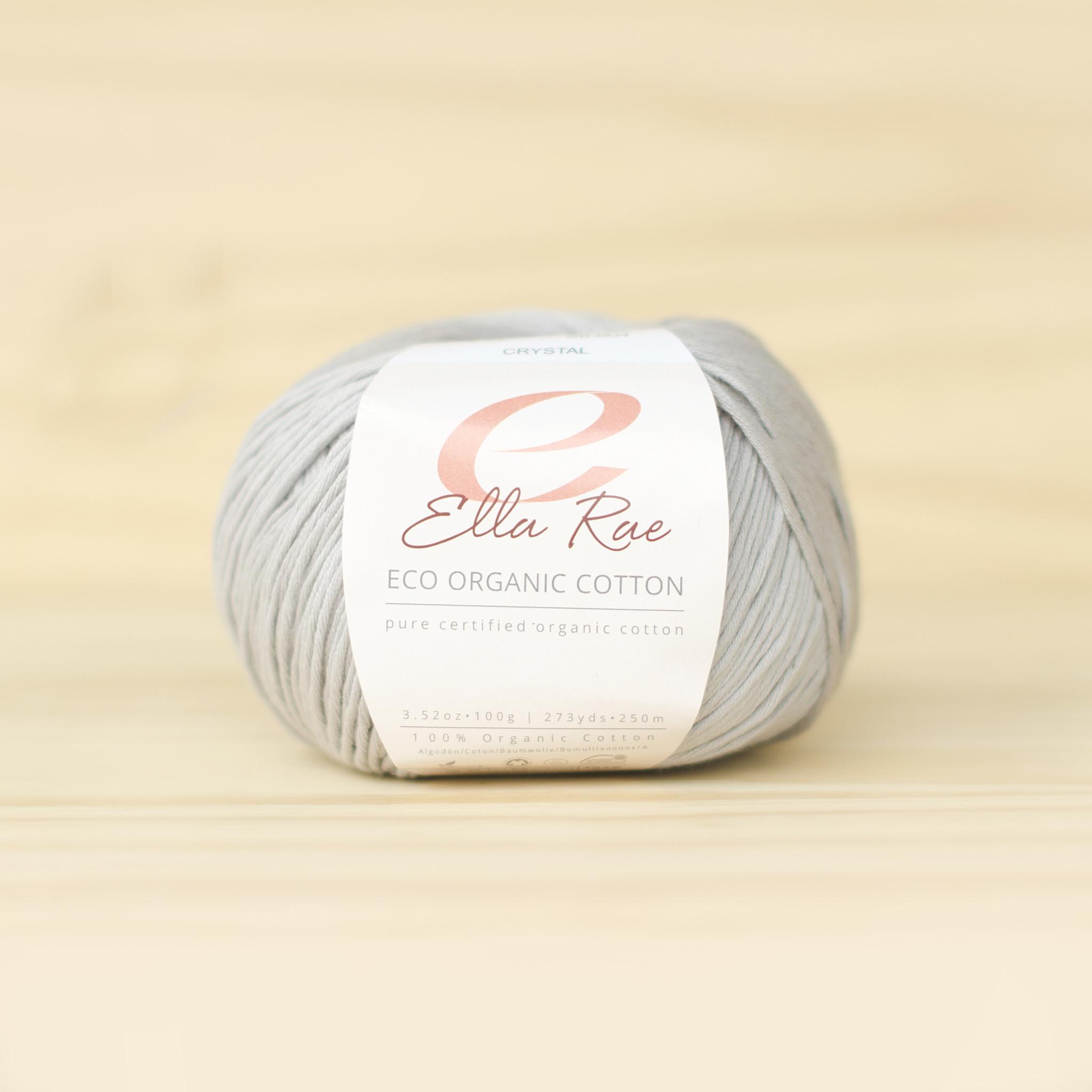 Ella Rae : Eco Organic Cotton : 03  Crystal