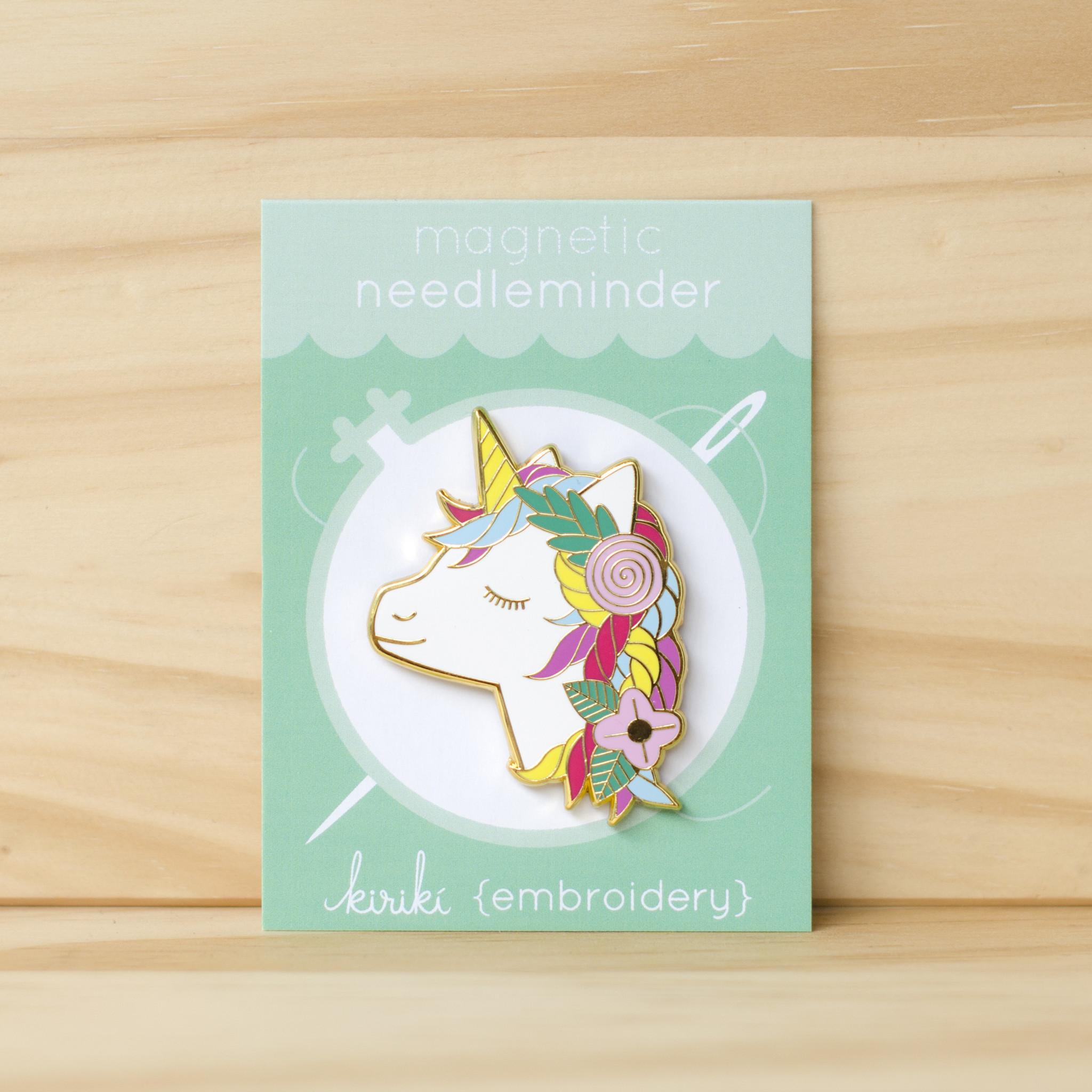 Kiriki Press : Magnetic Needleminder : Unicorn