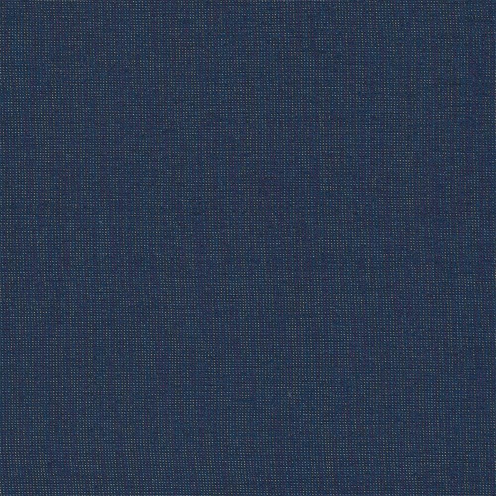 Robert Kaufman : Essex Yarn Dyed Metallic : Navy : 1/2 metre