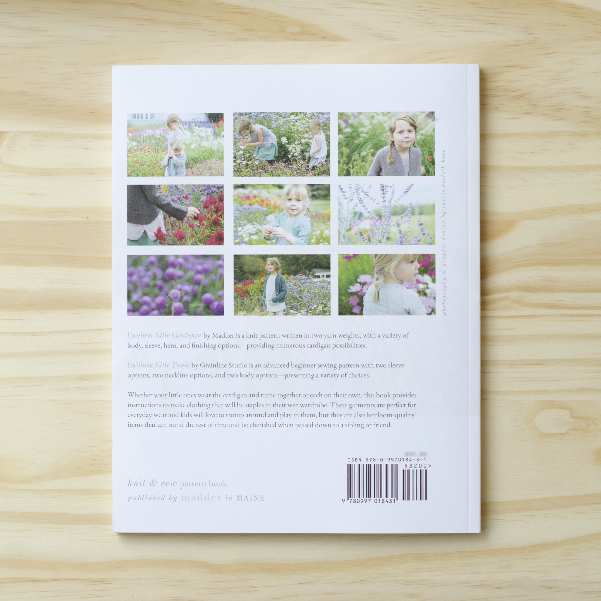 Uniform Little : Knit and Sew Book