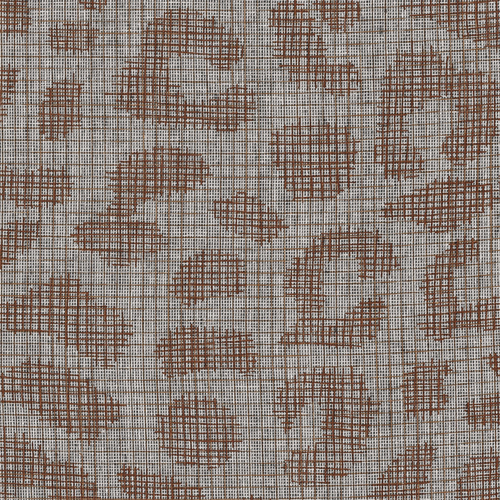 Carolyn Friedlander : Polk : Charcoal Leo Grid : 1/2 metre