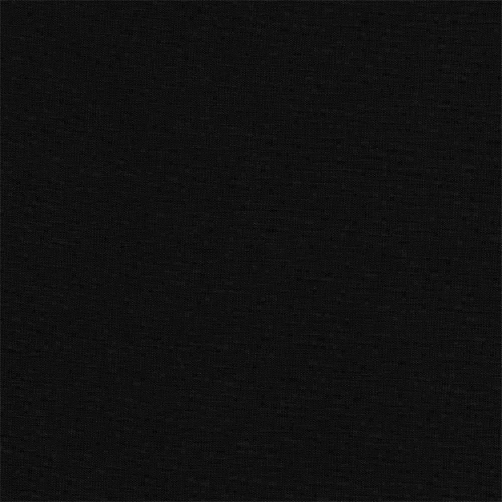 Robert Kaufman : Essex : Black : 1/2 metre