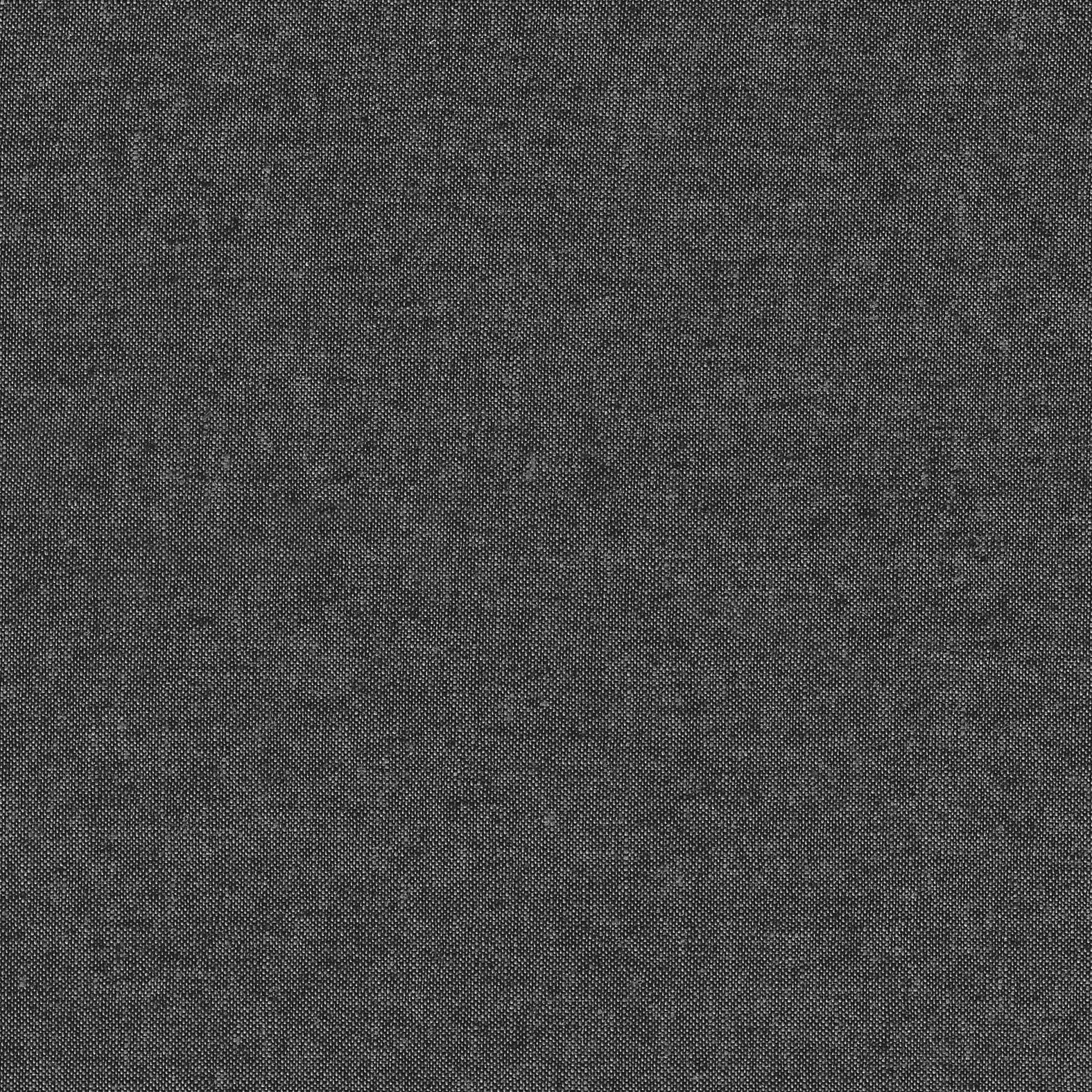Robert Kaufman : Essex Yarn Dyed : Charcoal : 1/2 metre