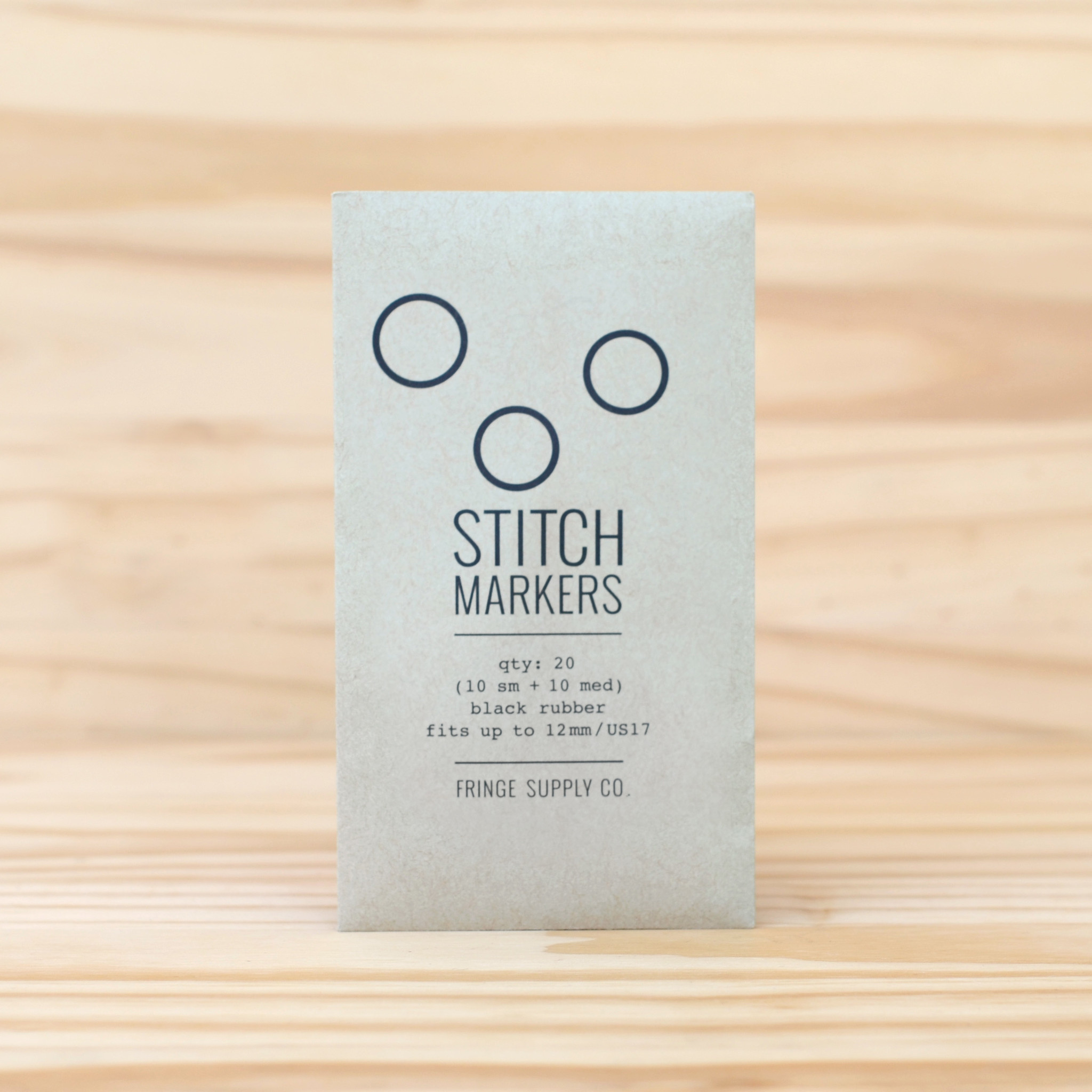 Fringe Supply Co. : Black Stitch Markers