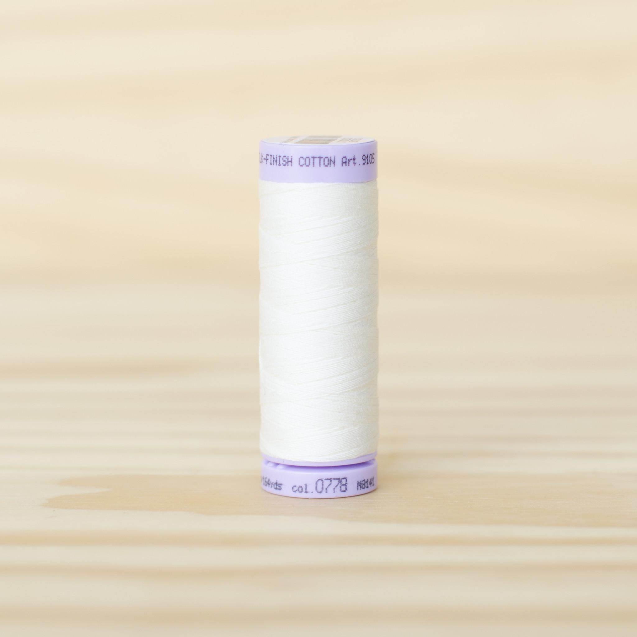 Mettler : Silk Finish 50wt Thread : 100% Cotton : 0778 Muslin
