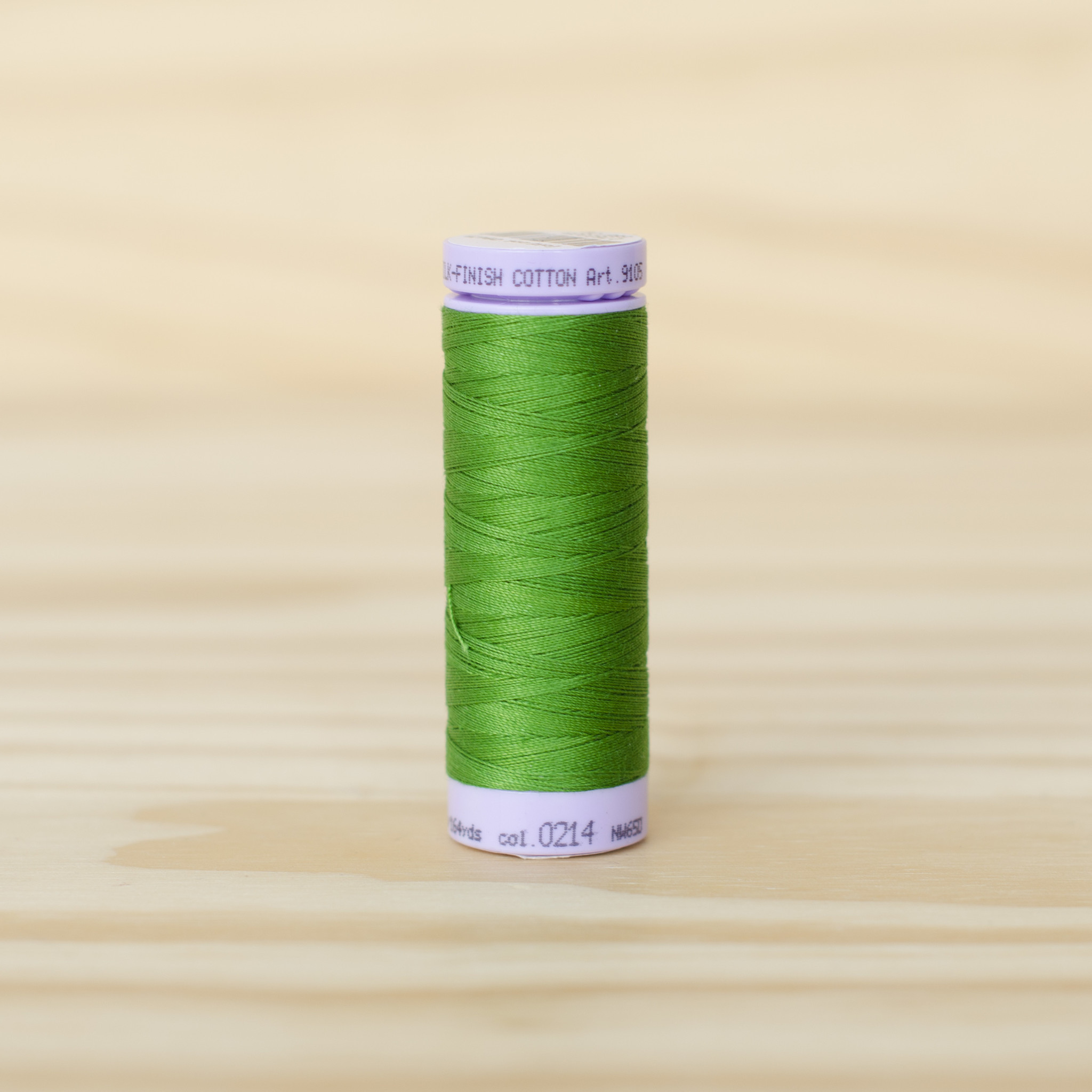 Mettler : Silk Finish 50wt Thread : 100% Cotton : 0214 Treetop