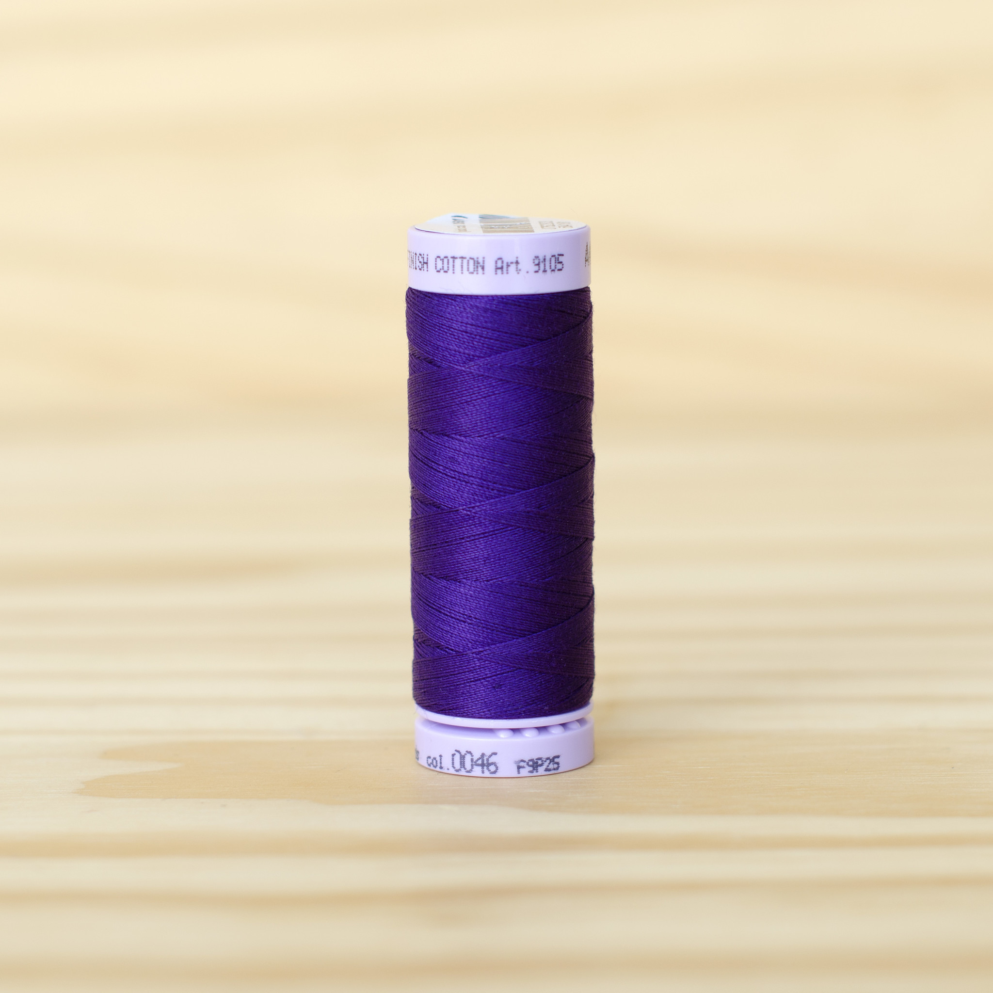 Mettler : Silk Finish 50wt Thread : 100% Cotton : 0046 Deep Purple