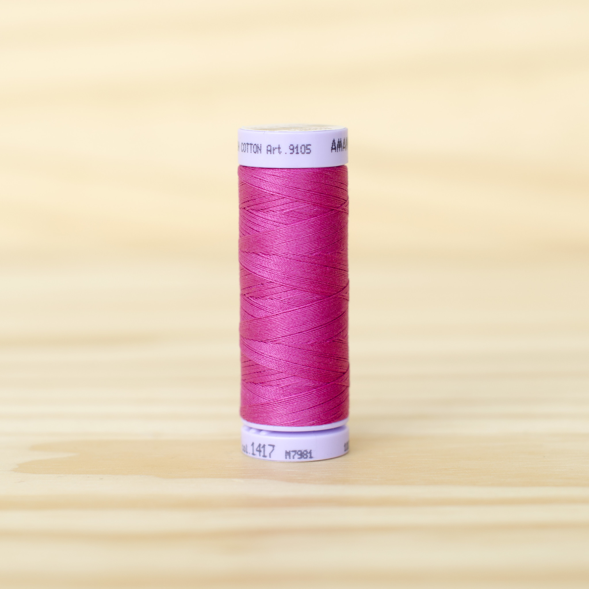 Mettler : Silk Finish 50wt Thread : 100% Cotton : 1417 Peony