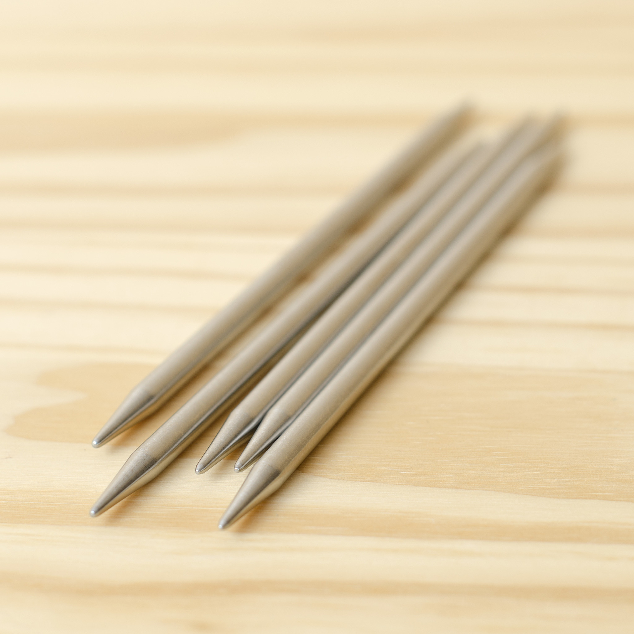 "ChiaoGoo Stainless Steel Double Point Needles 6"" : US 8/5mm"