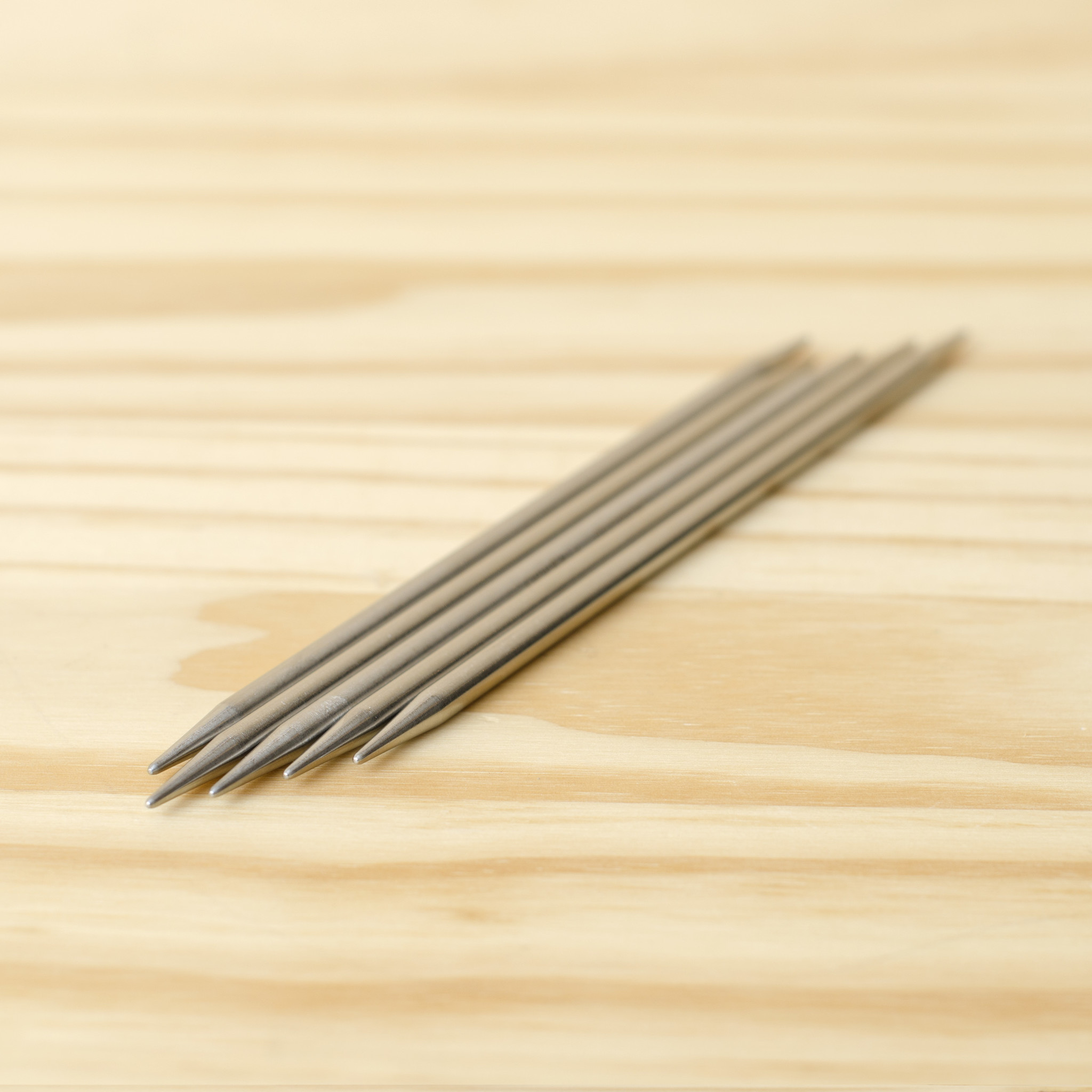 """ChiaoGoo Stainless Steel Double Point Needles 6"""" : US 7/4.5mm"""