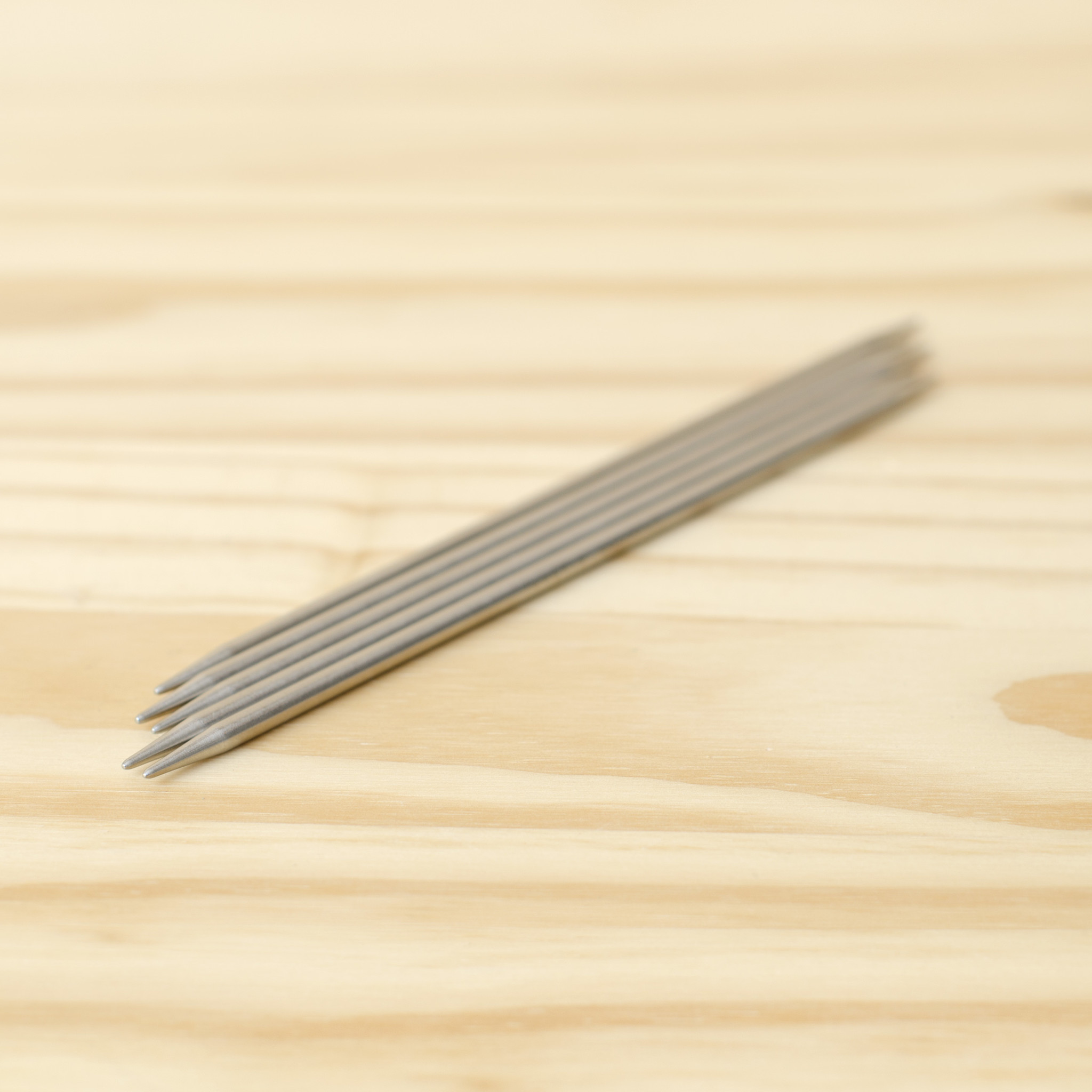 """ChiaoGoo Stainless Steel Double Point Needles 6"""" : US 4/3.5mm"""