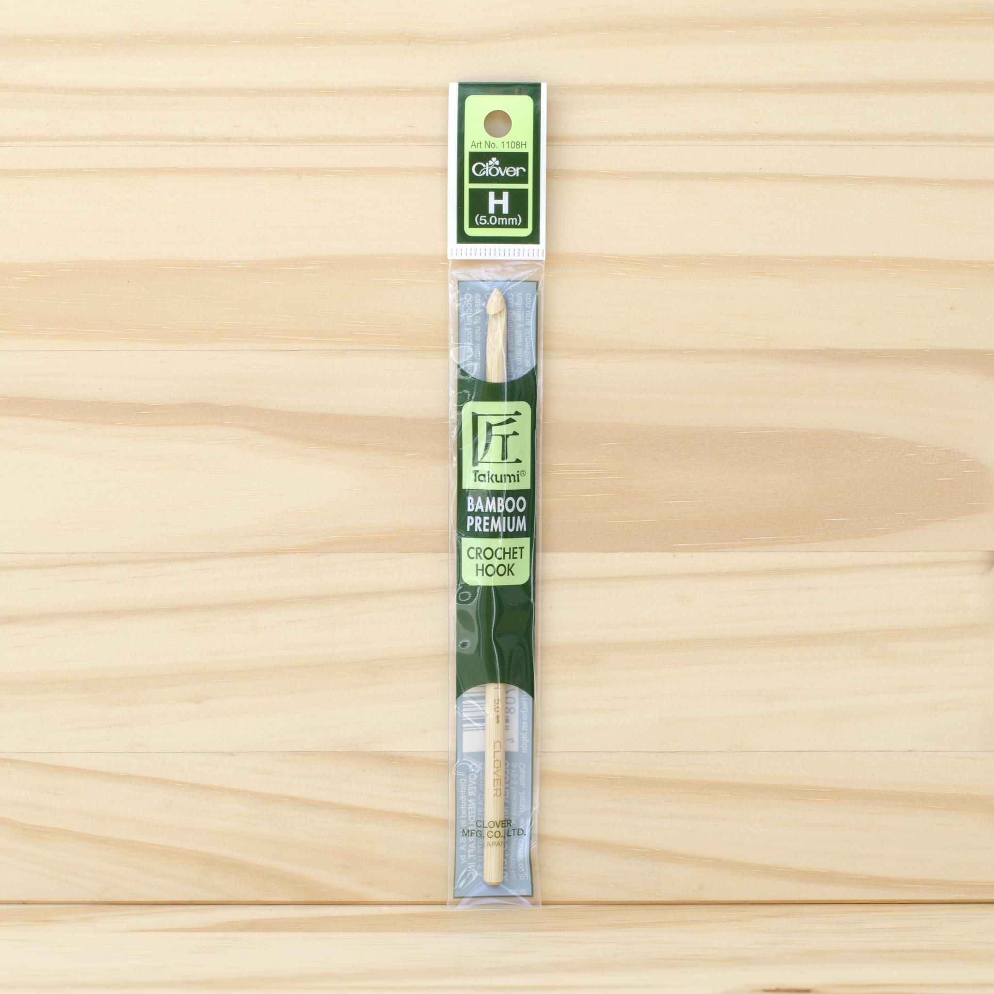 Clover : Bamboo Crochet Hook : 5mm