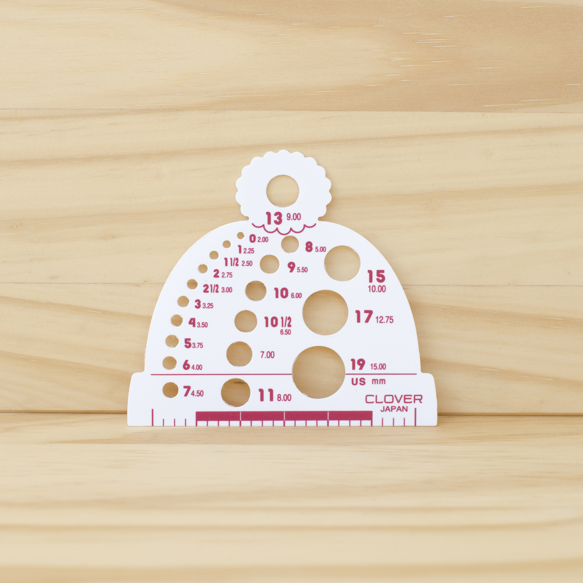 Clover : Knitting Needle Gauge