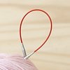 "ChiaoGoo Red Circular Stainless Steel Needles 9"" : US 3/3.25mm"