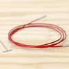 """ChiaoGoo Twist Interchangeable Red Cable : Small : 37""""/93cm"""