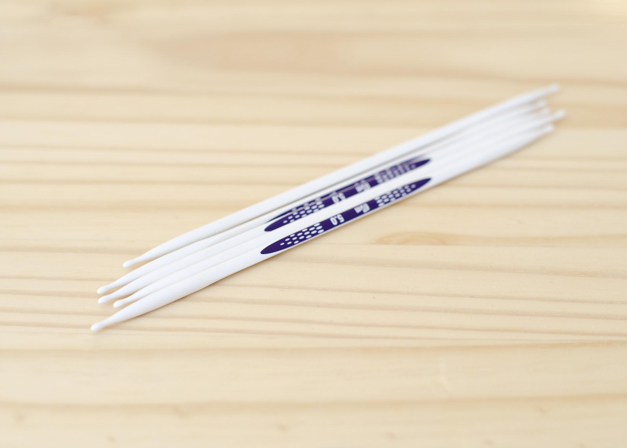 Prym : Ergonomic Double Pointed Needles : 5mm