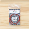 "ChiaoGoo Twist Interchangeable Red Cable : Large : 37""/93cm"