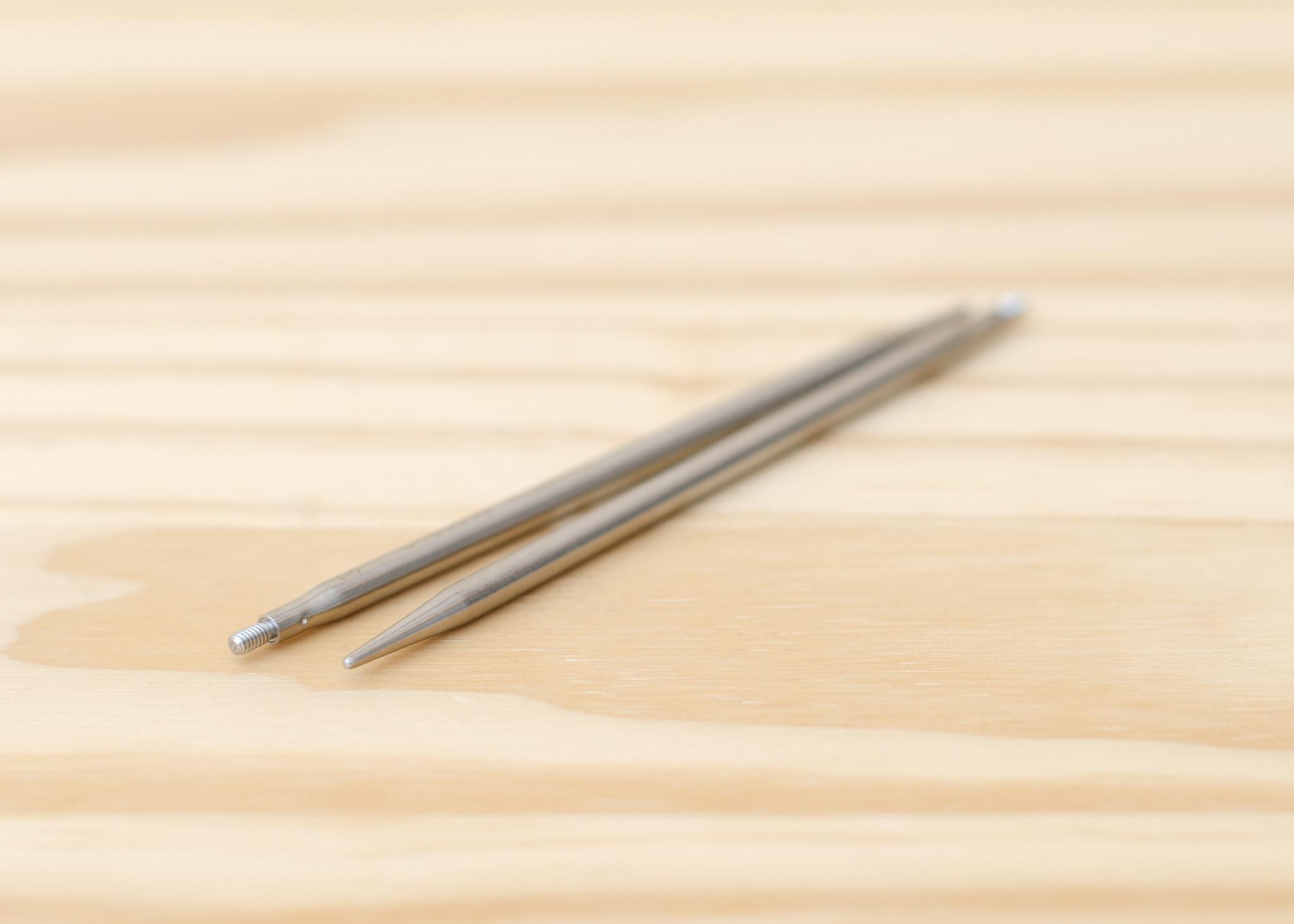 ChiaoGoo Twist Interchangeable Stainless Steel Tips : Small : US 4/3.5mm