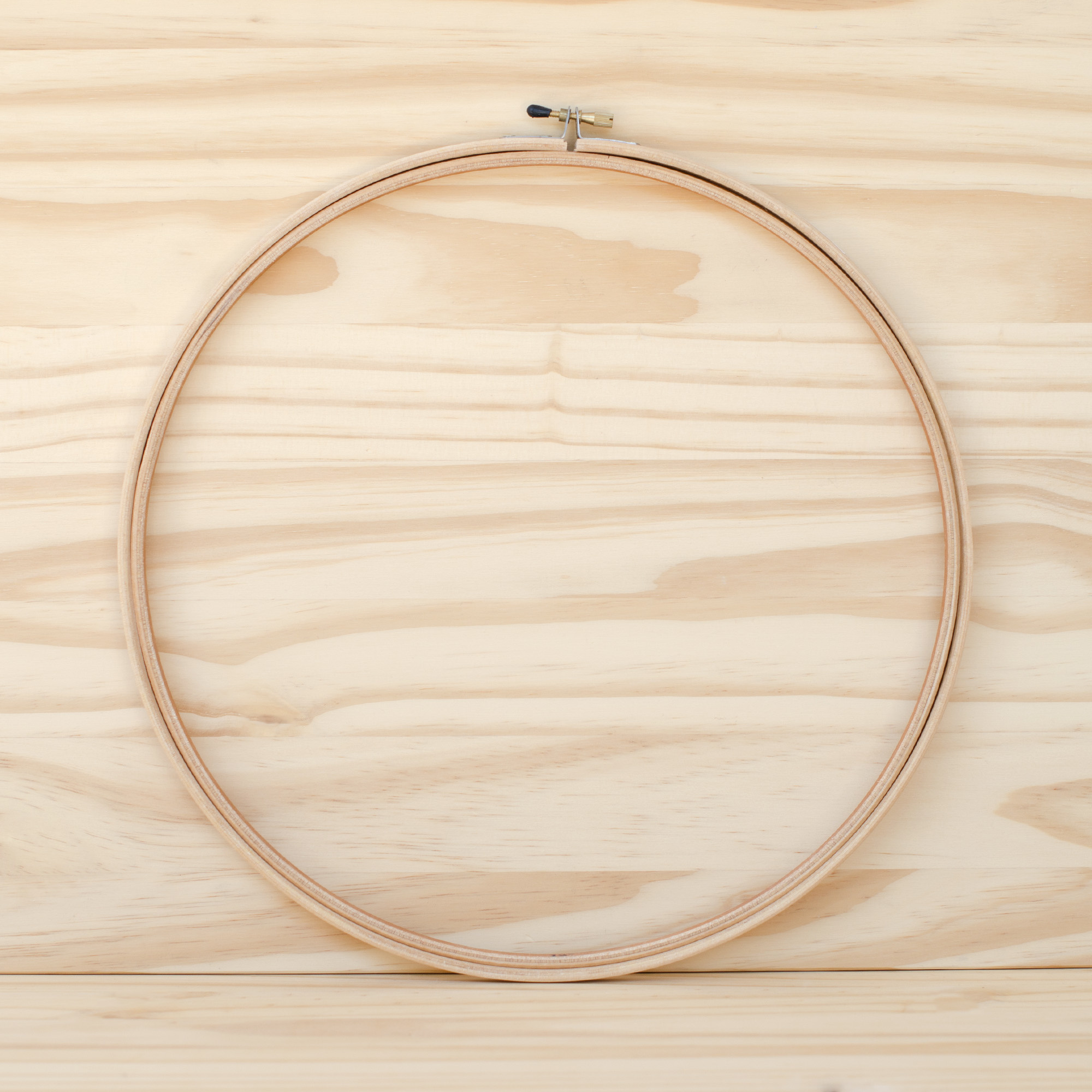 Wood Embroidery Hoop : 12""