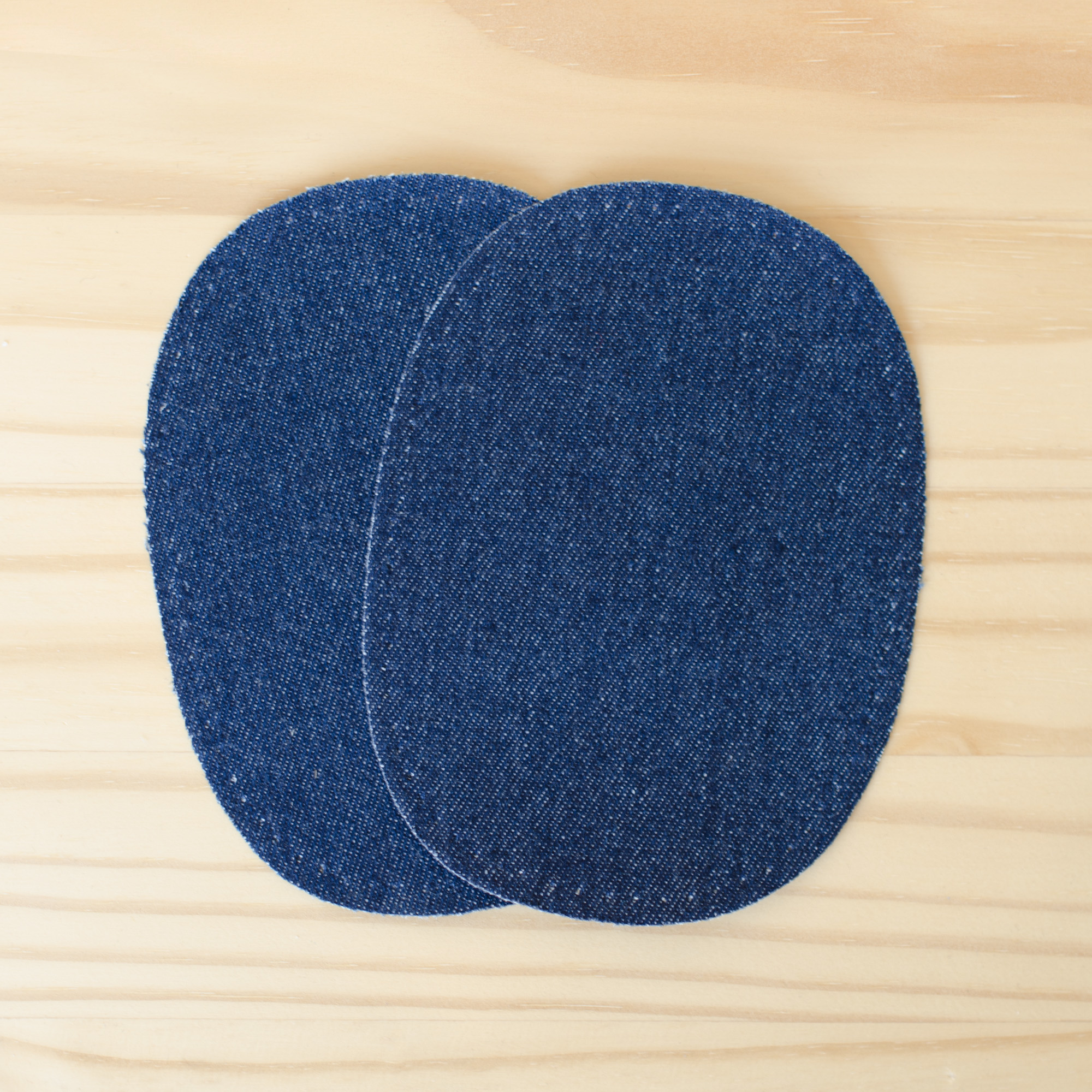 Prym : Dark Blue Denim Patches : 2 count