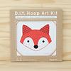 Kiriki Press : Hoop Art Kit : Fox Cub