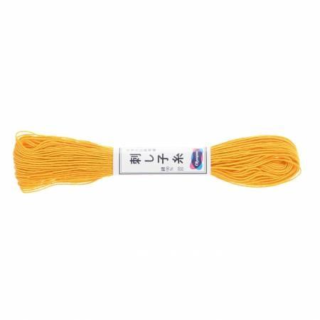 Olypus Sashiko Thread : 16 Yellow : 20 metres