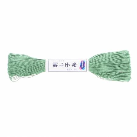 Olypus Sashiko Thread : 07 Green : 20 metres