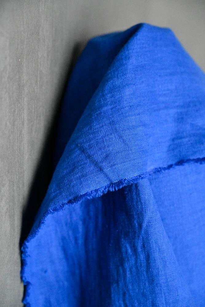 Merchant & Mills : Cobalt Linen : 1/2 metre