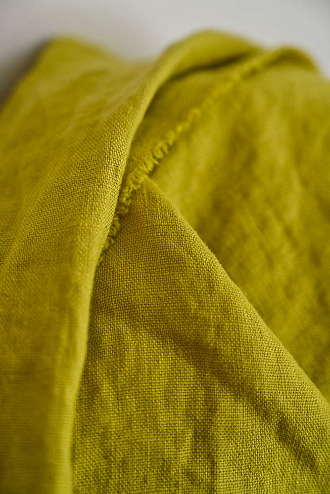 Merchant & Mills : Mr. Citrus Linen : 1/2 metre