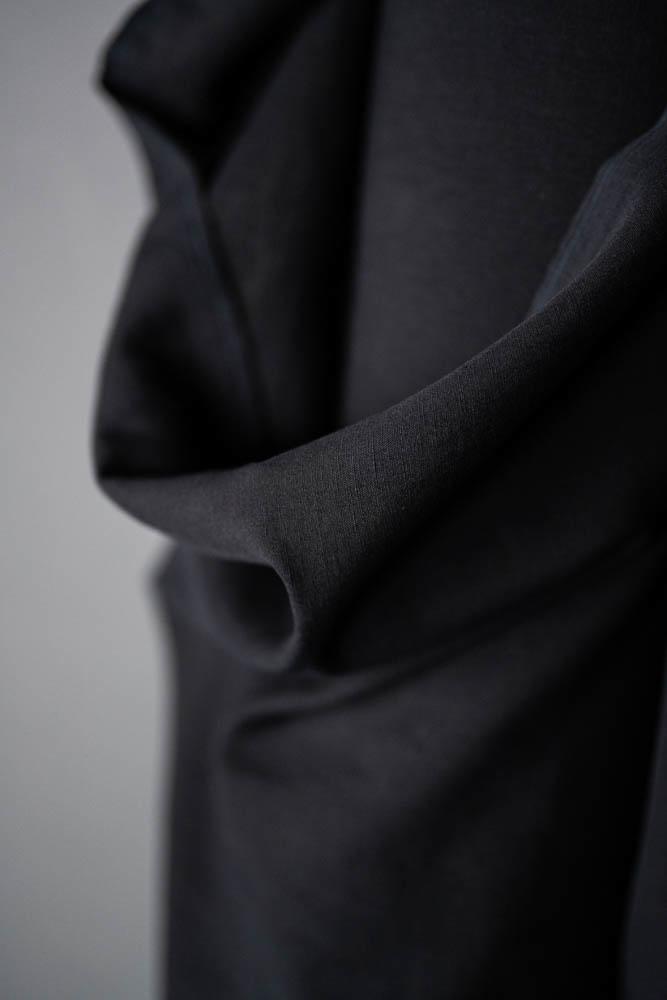 Merchant & Mills : Black Cotton/Linen : 1/2 metre
