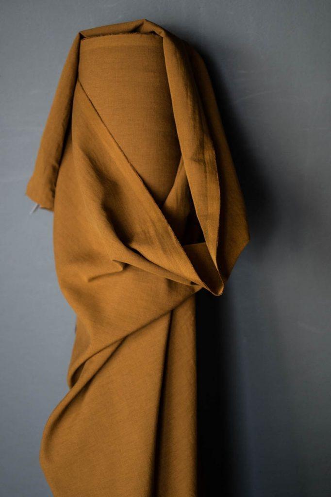 Merchant & Mills : Cinnamon Toast Cotton/Linen : 1/2 metre