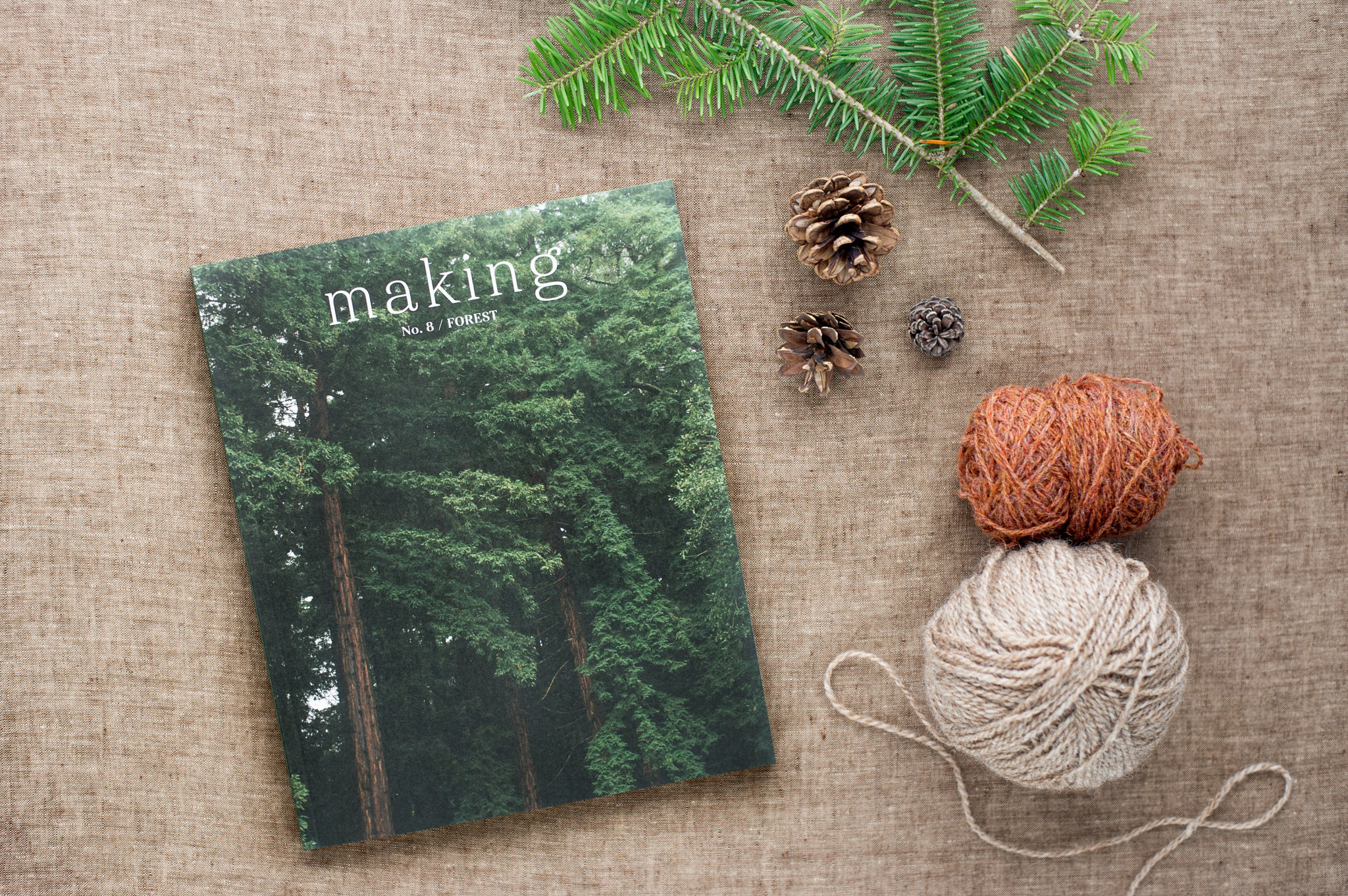 Making Magazine : No. 8 Forest
