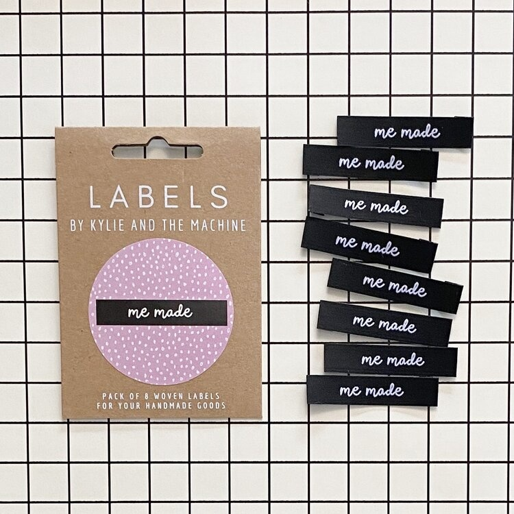 Kylie and the Machine : Woven Labels 8 Pack : Me Made